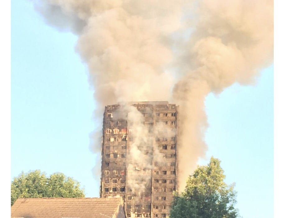 A huge fire breaks in west London. Many are still feared to be trapped in the blaze that broke at 1:00am this morning.