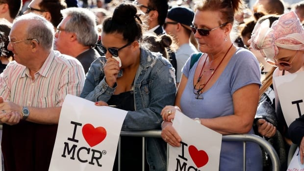 Britain-terror attacks at an Ariana Grande concert-blast