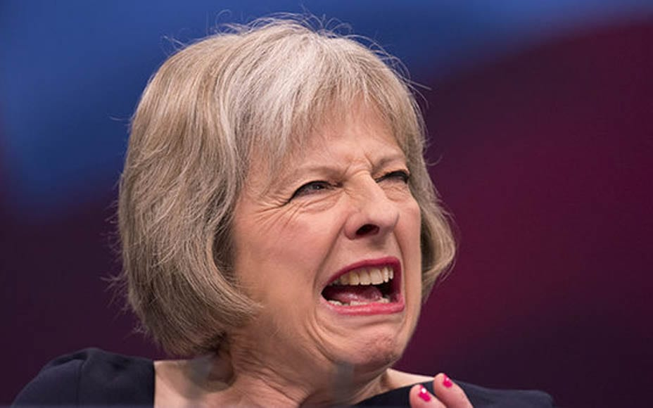 Theresa May is struggling to contain the disunity and rebellion in her party