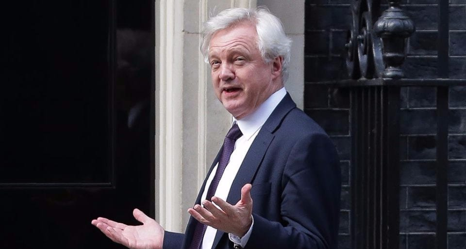 David Davis, the minister in charge of Brexit - The British Bulldog