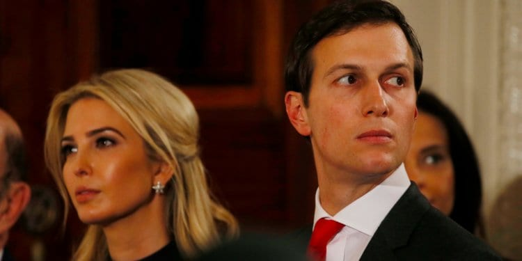 Jared Kushner and Ivanka Trump have used private email accounts in the White House.