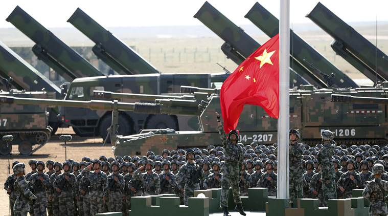 China is coy with its military spending