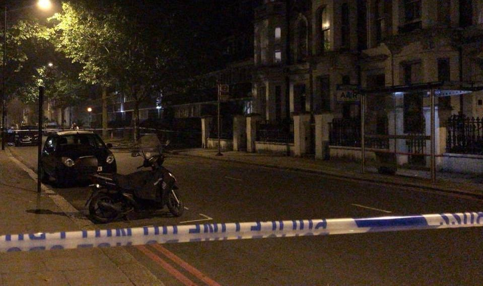 The 28th fatality of knife crime in the capital this year, in Kensington London