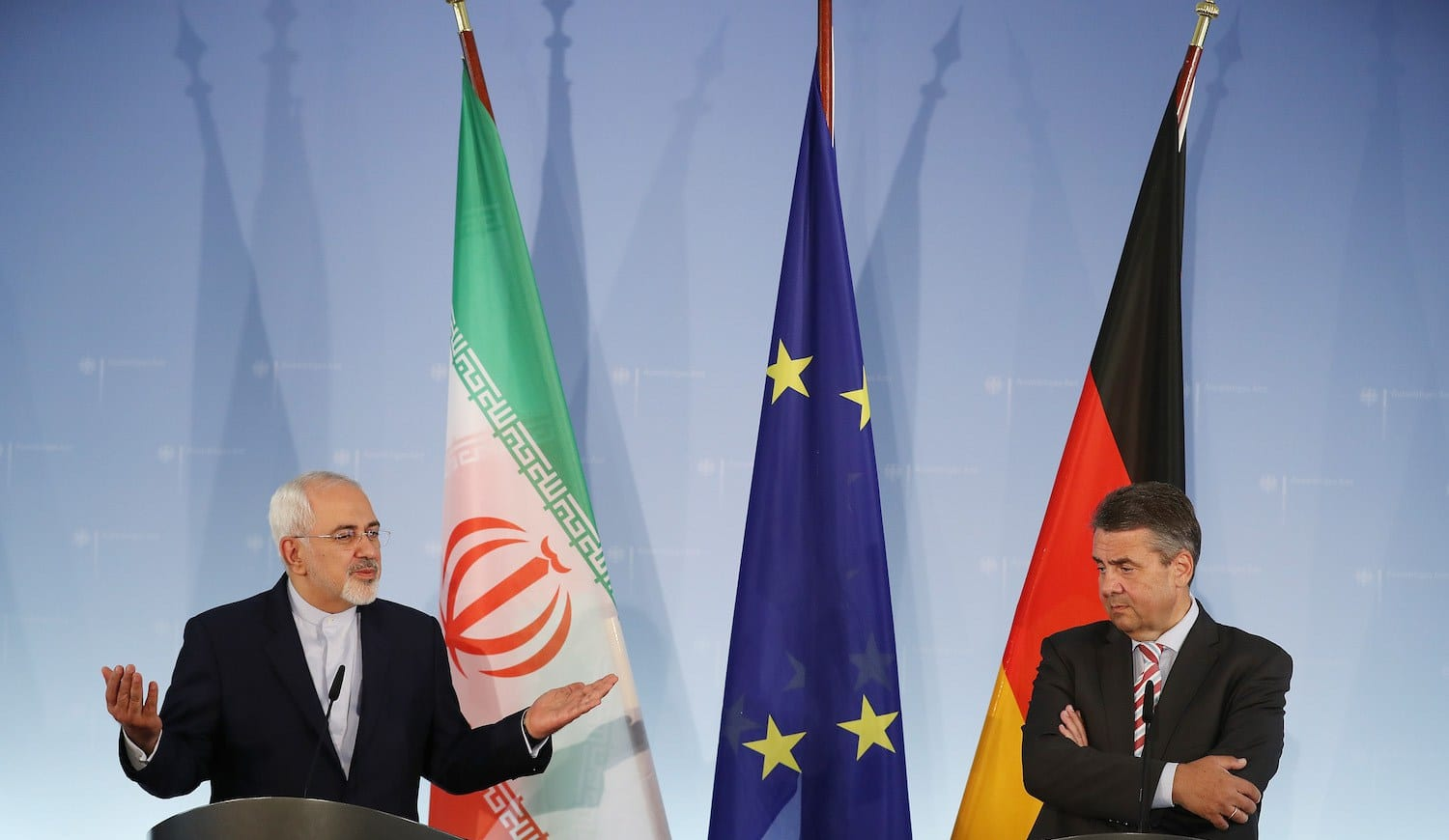 "Trump's pledge to renegotiate the deal that he deemed to be ""disastrous,"" both Iranians and Europeans have adopted a wait-and-see approach"