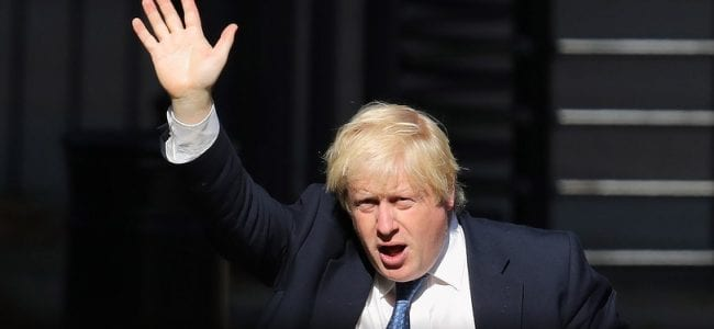 Boris Johnson the former foreign Secretary is speculated to be planning a coup of the Tory party