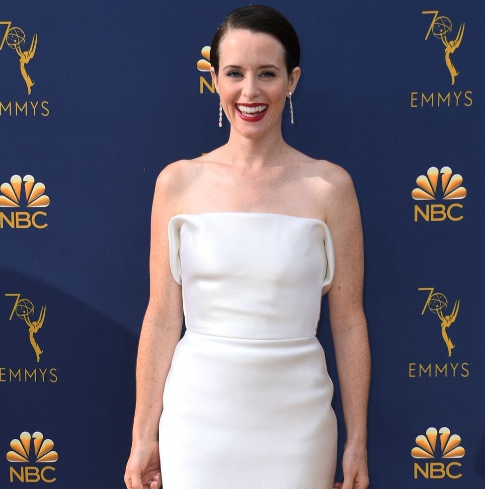 British actress Claire Foy's performance in The Crown won her the prize for best lead actress in a drama series