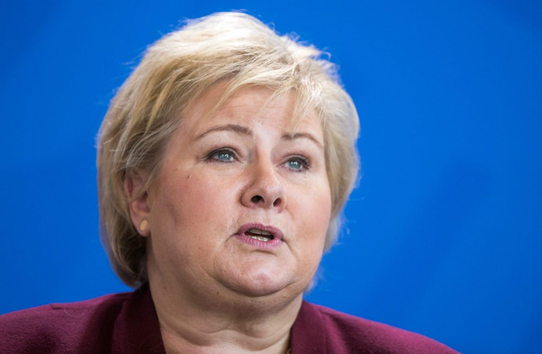 Norway's Prime Minister Erna Solberg - Apologises for the abhorrent treatment of 'German girls'
