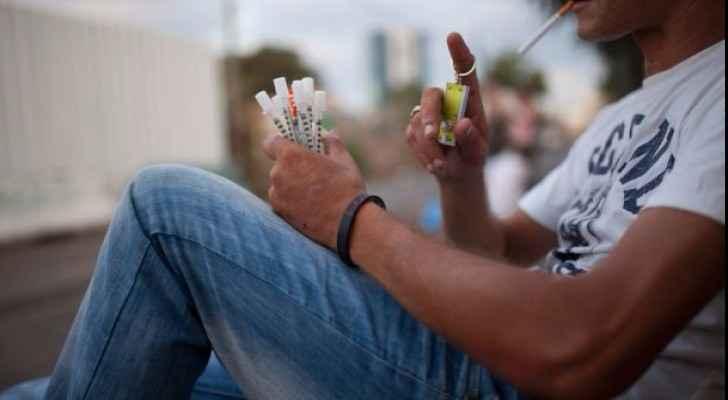 Gaza Tramadol drug addiction