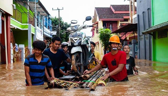 Indonesia landslide 2019