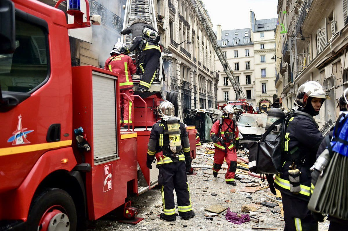 News Paris Explosion