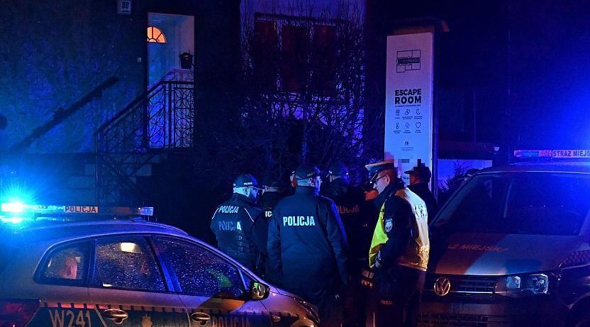 Escape Room Fire - Five Women dead in Poland