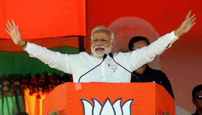 PM-Modi-India victorious after the airstrikes in Pakistan