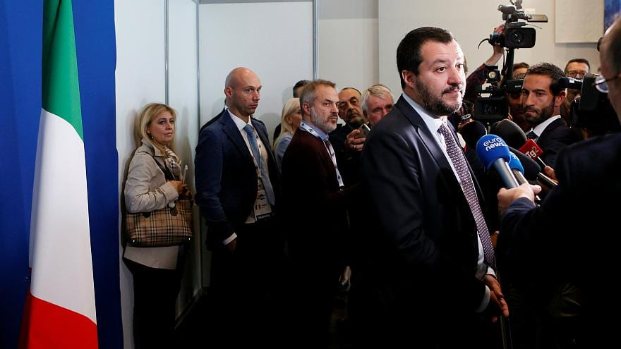 Salvini has regularly denounced EU officials in Brussels as unelected bureaucrats and blames them for Italy's economic and public finance difficulties.