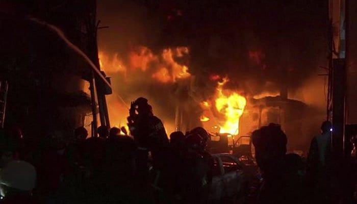 Dhaka fire kills 20