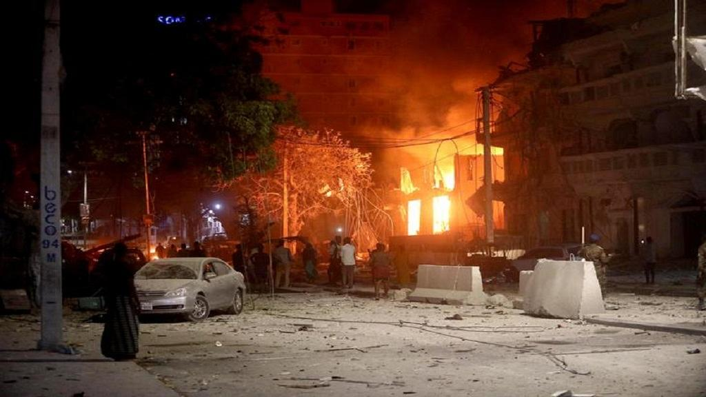 Two bombs go off in Mogadishu, Somalia killing at least 15