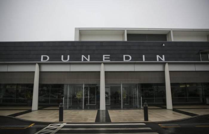 New Zealand Dunedin Airport closed