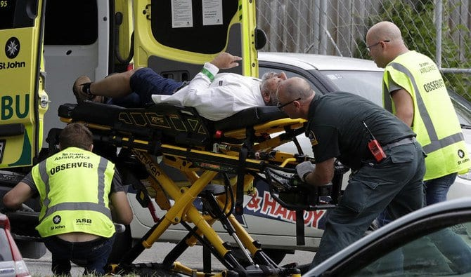 At least 49 killed as gunman livestreams New Zealand mosque 'terrorist attacks'