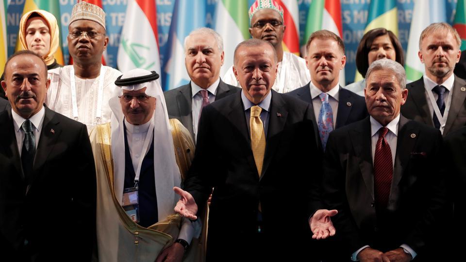 Erdogan urges the world to fight Islamophobia like antisemitism
