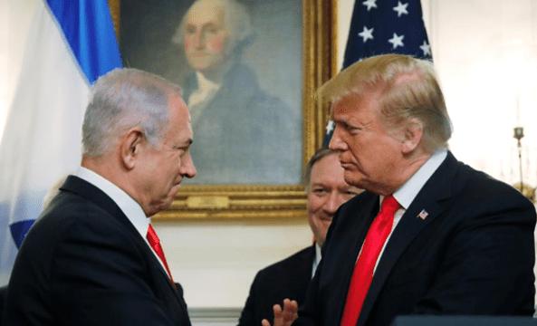 Trump & Netanyahu sign Golan Heights as Israeli territory
