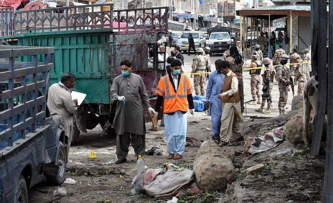Twenty dead, scores injured in blast in Pakistan