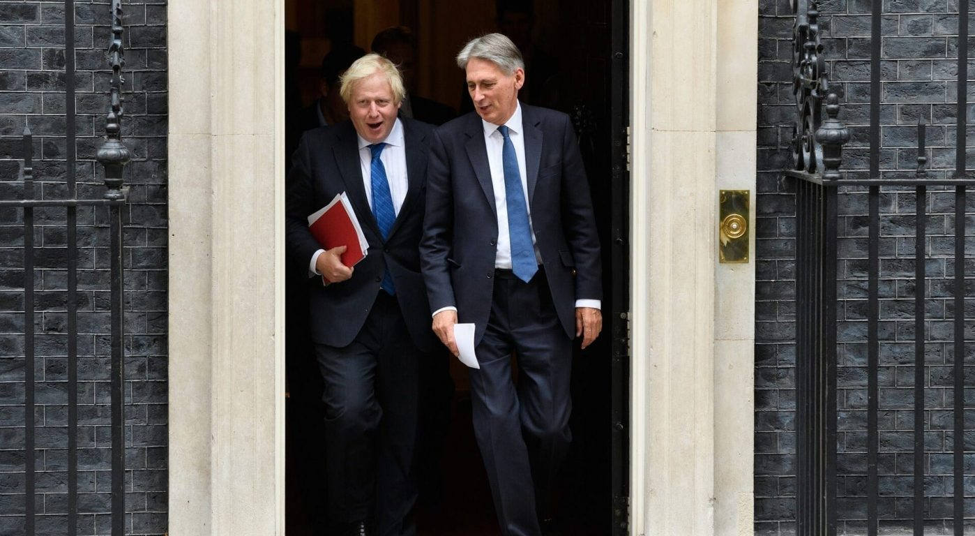 Boris and Hammond warn over Brexit failure