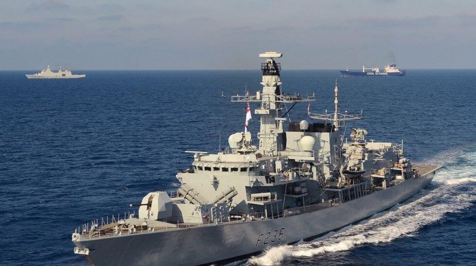 HMS Montrose foils a Iranian plot in the Persian Gulf to seize a British Oil tanker