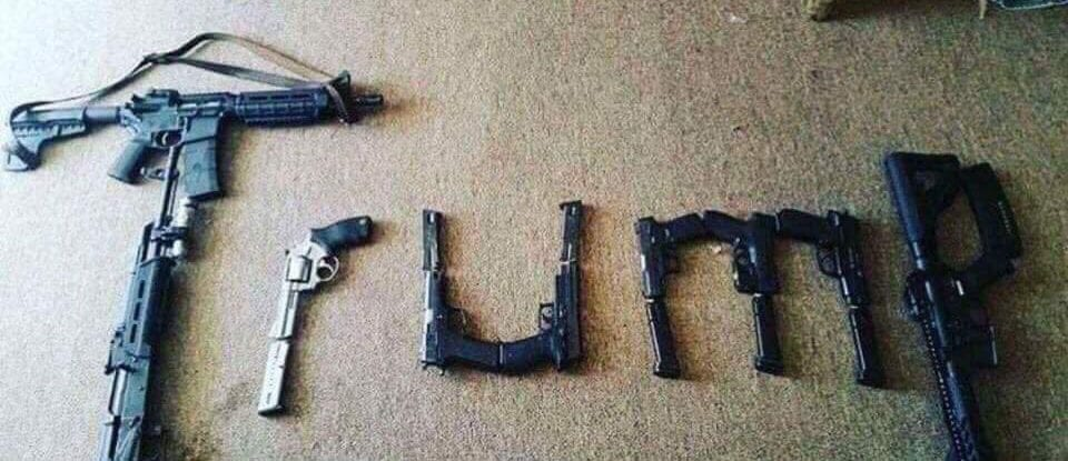 Social media post from El Paso shooter