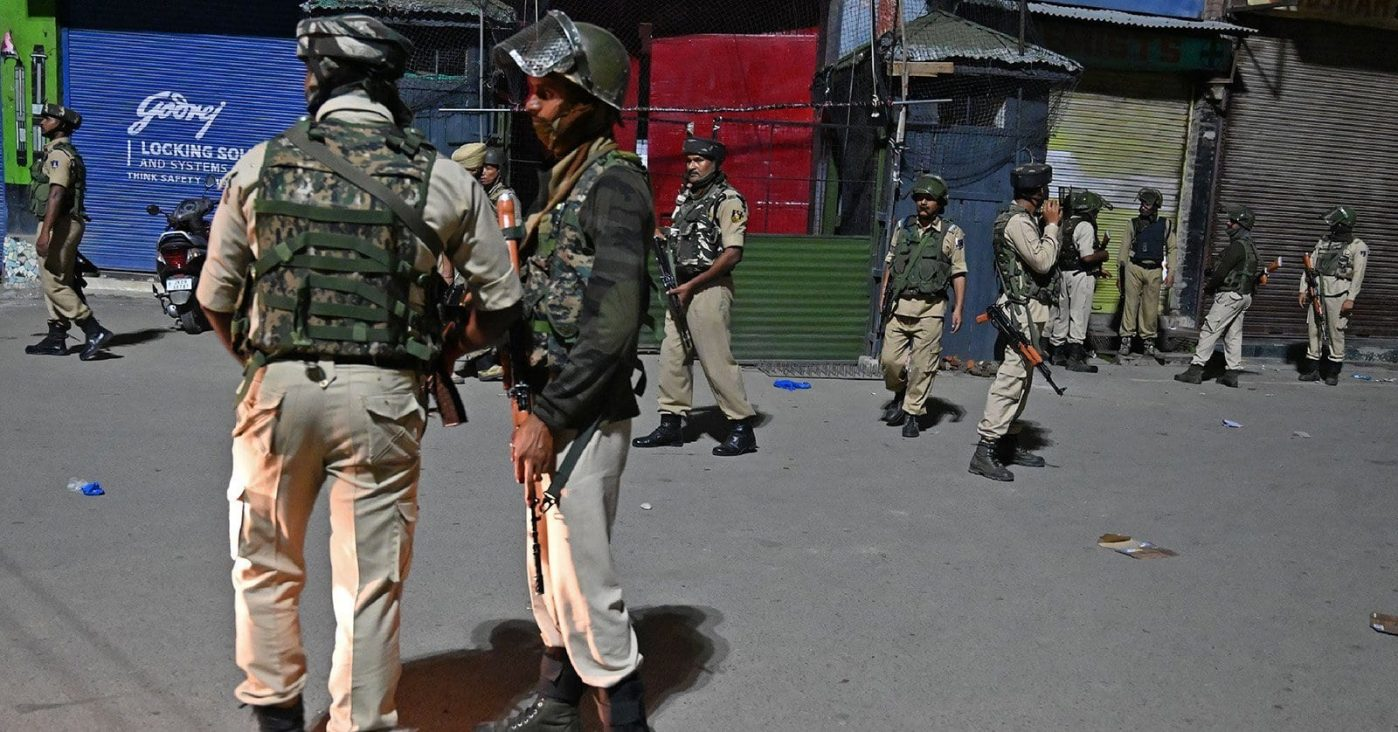 India takes control of Jammu & Kashmir As the two countries are set on a war path