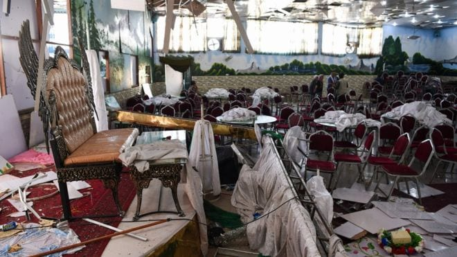 Live from Afghanistan - A terrorist Bomb kills 63 at wedding Hall in Kabul