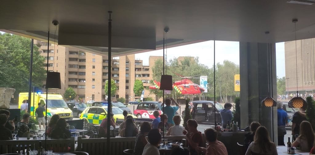 Tate Modern: Boy thrown from 10th floor