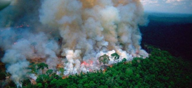 brazil sends planes and troops to fight Amazon fires