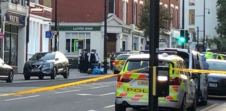Man shot dead in London: 'He shot himself - he's f*cking shot himself'