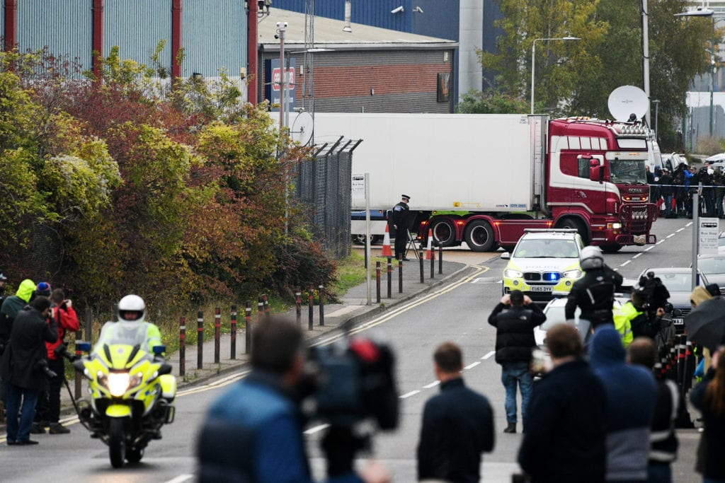Two held on suspicion of manslaughter - London Lorry driver deaths