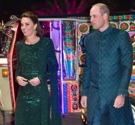 Details of the five-day visit are being kept under wraps. Security is expected to be tight for the couple's first official trip to Pakistan, and the first visit by a British royal since William's father Charles and his wife Camilla came in 2006.