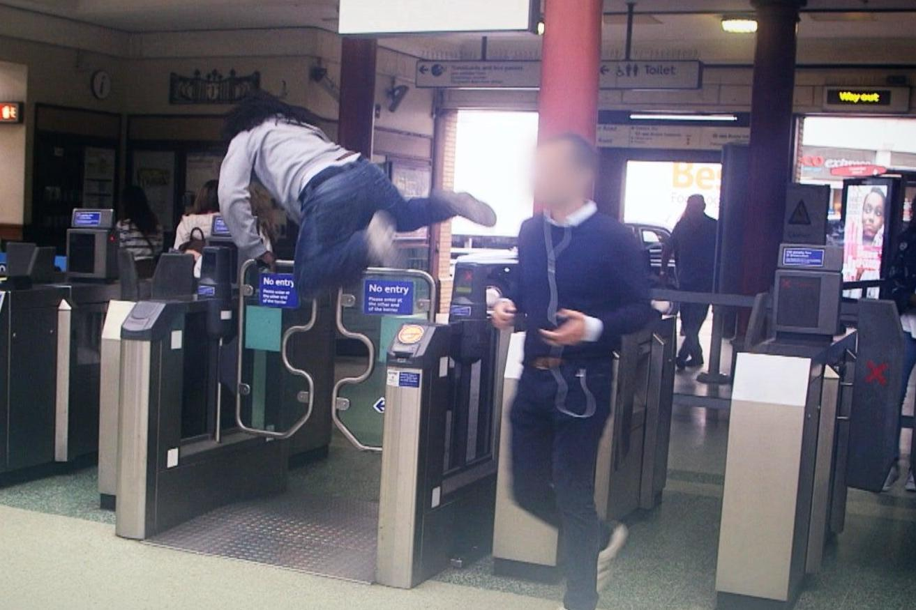 Fare Dodgers: At war with the Law