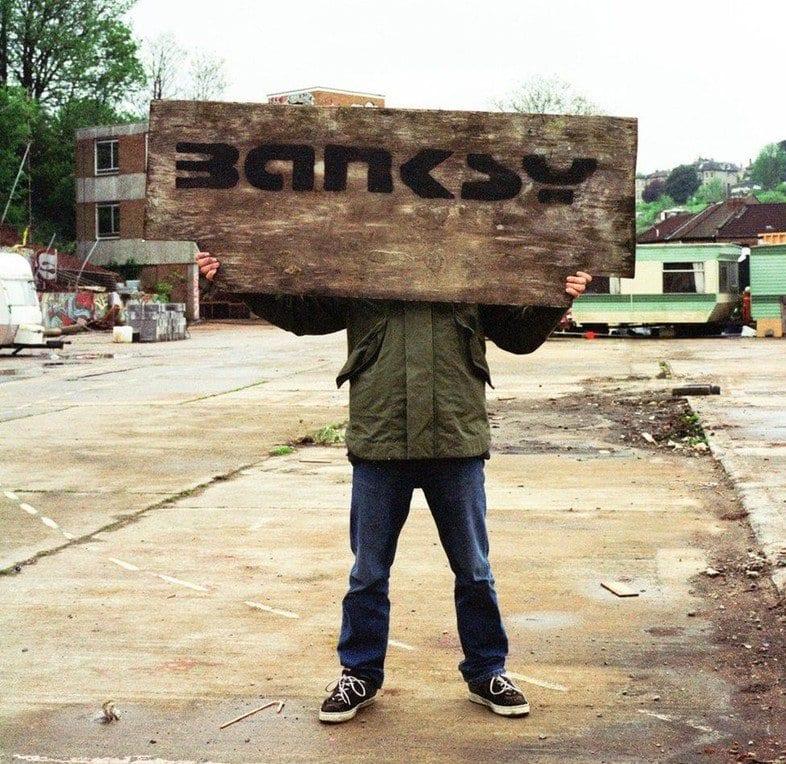 Banksy captured