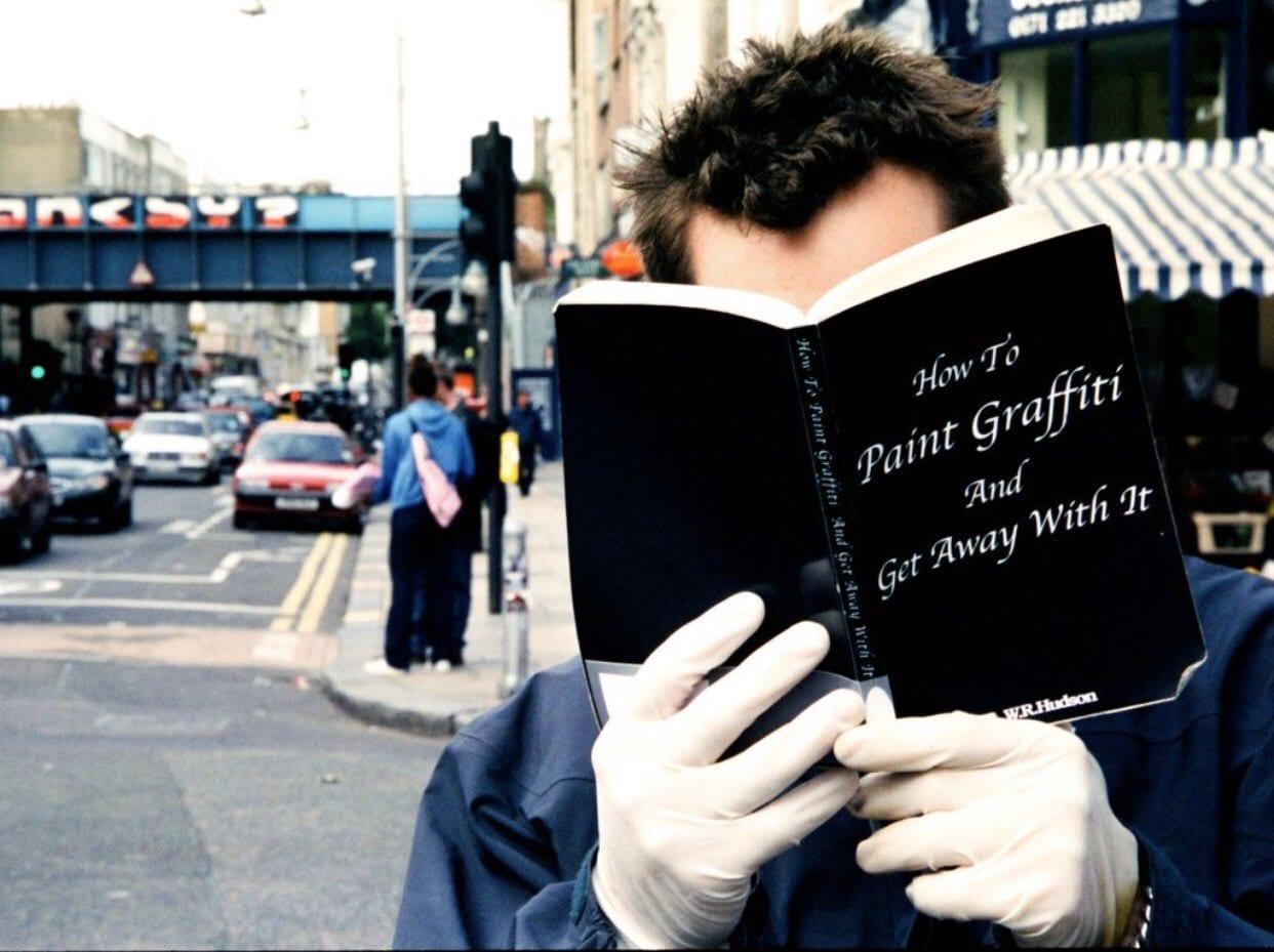 elusive street artist Banksy?