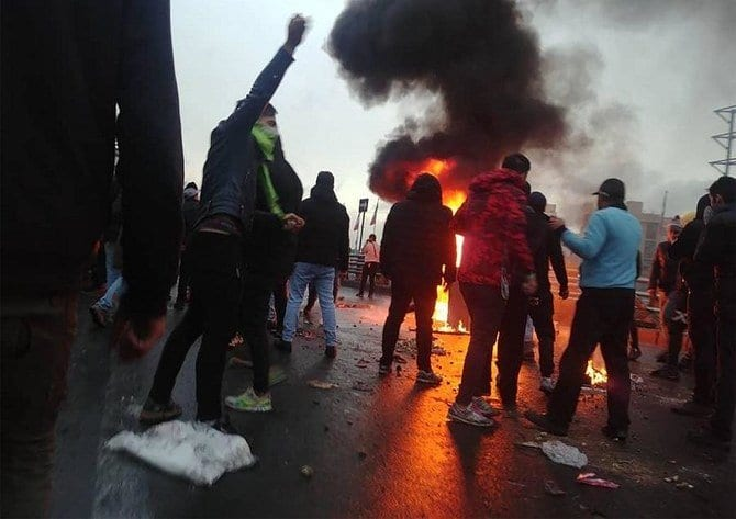 Iranian Protests death toll 106