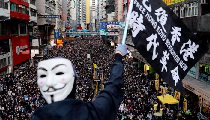 Hong Kong protest hits almost 1 million