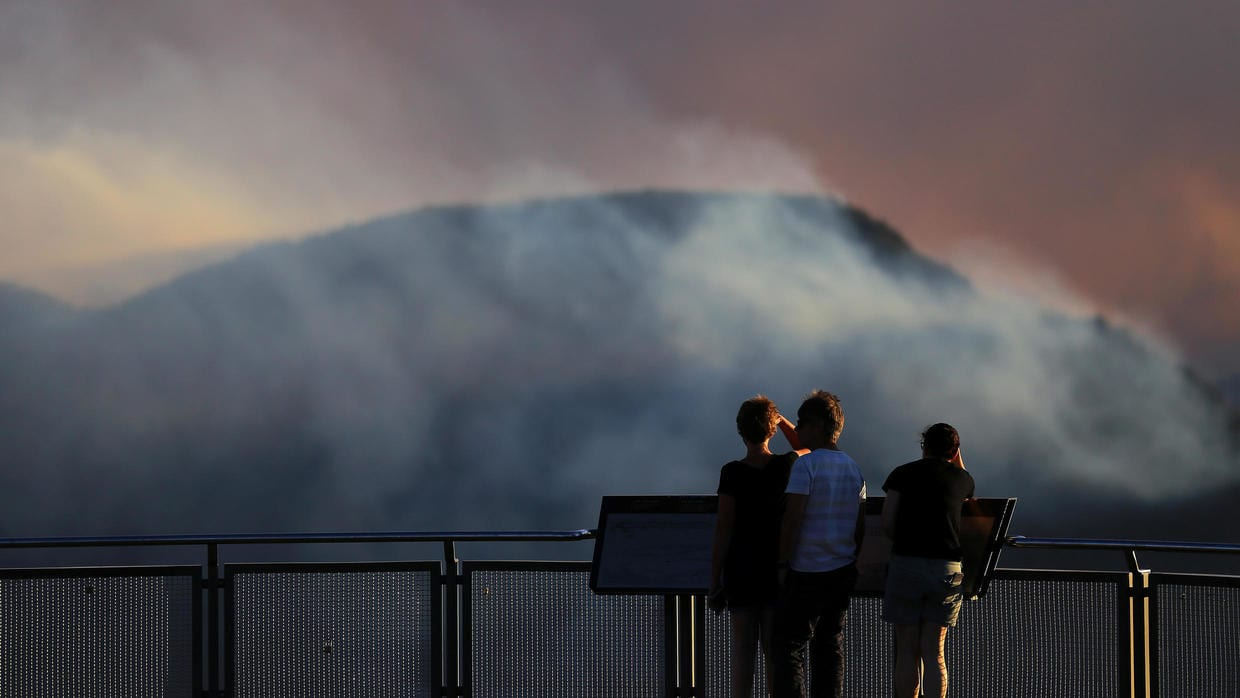state of emergency announced in new south wales - bushfires and temps