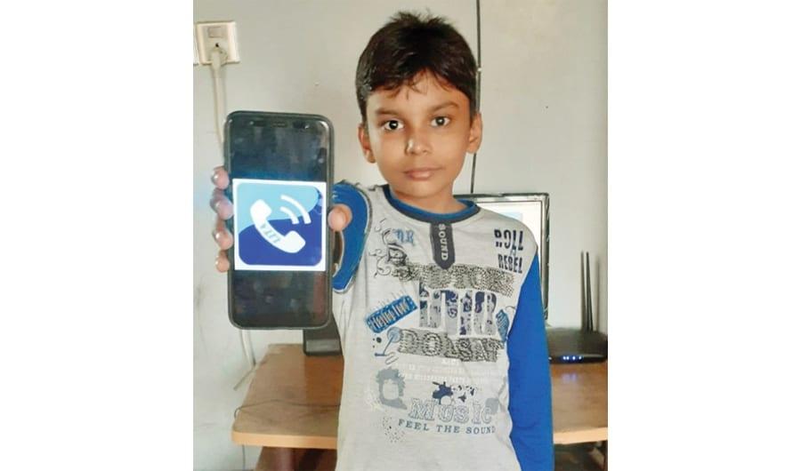 10-year-old Bangladeshi boy makes app