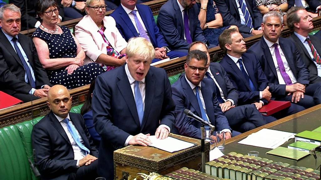 Boris Johnson says Brexit will be a new chapter for UK