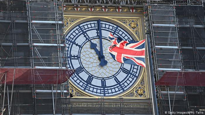Buildings along Whitehall will be lit up and Union flags will be flown from all the poles in Parliament Square for Brexit Day