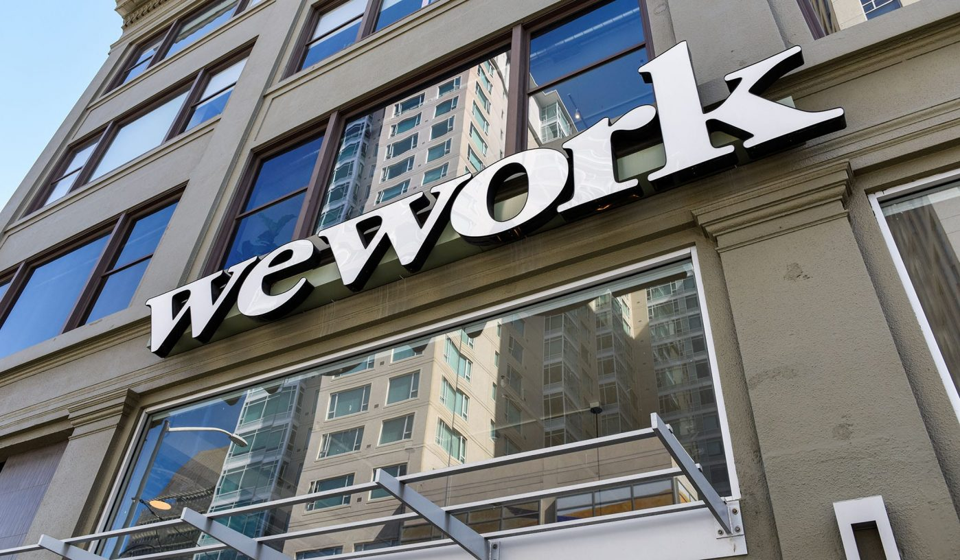 WeWorks leasing activity drops by 93% in 2019