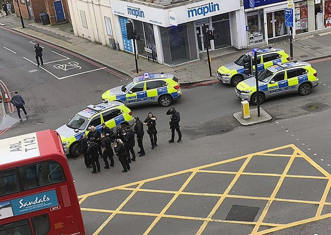 Latest News from Streatham - Police shot dead a man in south London, Streatham, on Sunday afternoon after several people were believed to have been stabbed in a terrorism-related incident