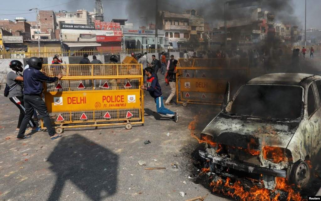 new dehli riots