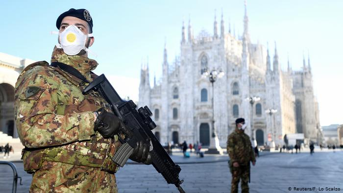 Italy on Lockdown Coronavirus Latest news