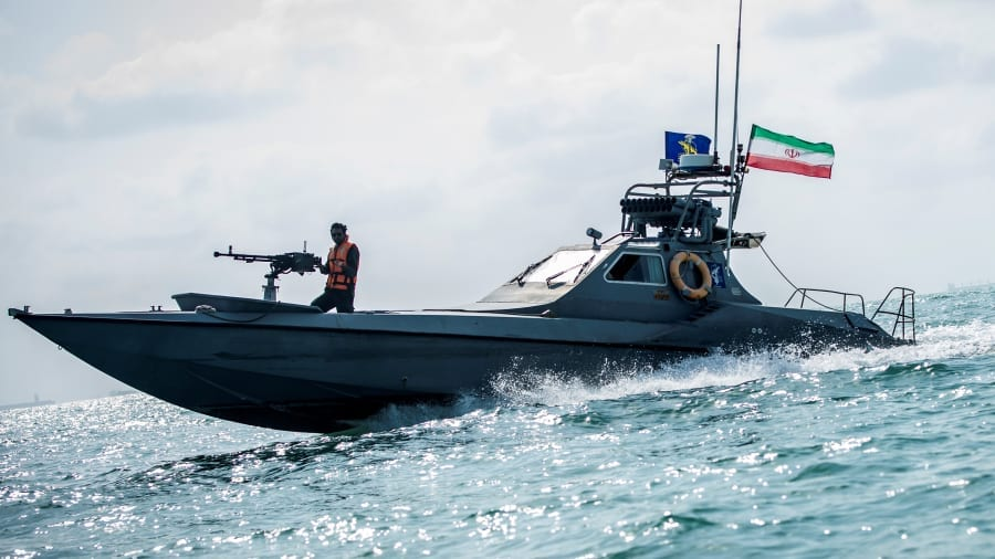 US will shoot iranian boats out f the water says trump as tensions flare