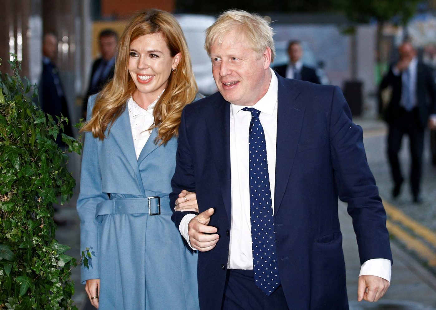 boris johnson annonces birth of son