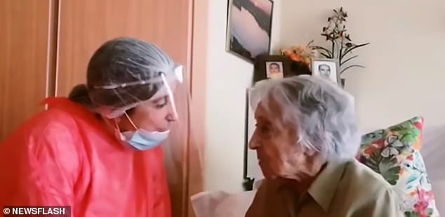 Maria Branyas: 'Oldest woman in Spain' recovers from coronavirus at 113